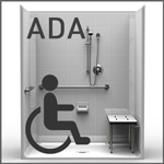 ADA Showers